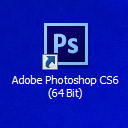 Nowa ikonka programu photoshop cs6