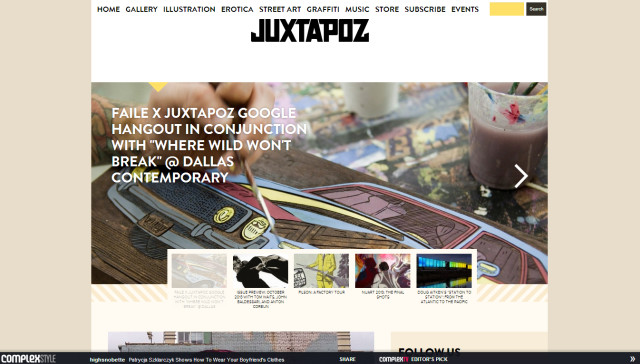 focal point juxtapoz